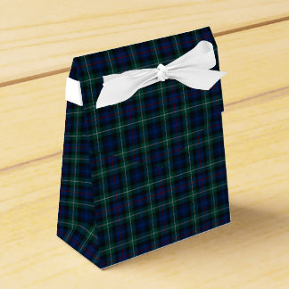 Clan Mackenzie Tartan Wedding Favour Boxes