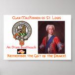 Clan MacKinnon Drambuie Poster