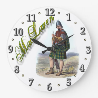 Clan MacLaren Scottish Dream Clock
