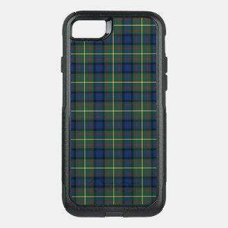 Clan MacLaren Tartan Blue and Green Plaid OtterBox Commuter iPhone 8/7 Case