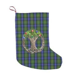 Clan MacLaren Tartan Small Christmas Stocking