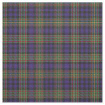 Clan MacLellan Scottish Tartan Plaid Fabric