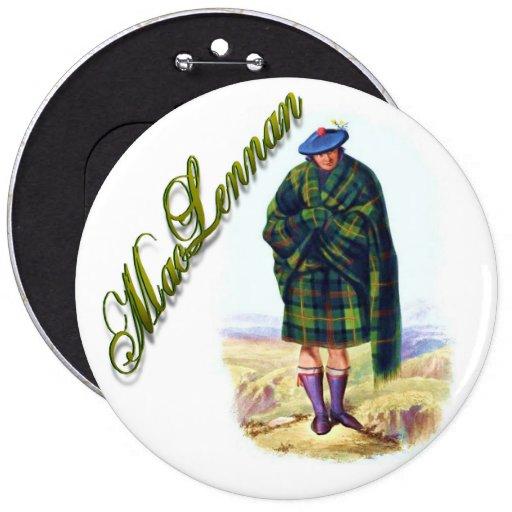 Clan MacLennan Scottish Dream Button