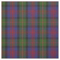 Clan MacLennan Scottish Tartan Plaid Fabric