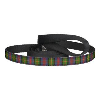 Clan MacLennan Tartan Dog Leash