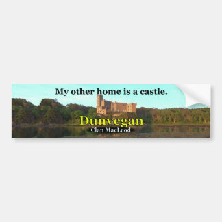 Clan MacLeod Dunvegan Castle Bumper Sticker