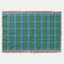 Clan MacLeod of Harris Tartan Design Throw Blanket