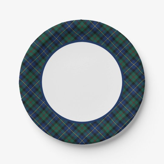 Clan MacLeod of Skye Tartan Border 7 Inch