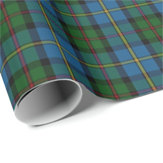 Clan MacLeod Scottish Tartan Wrapping Paper