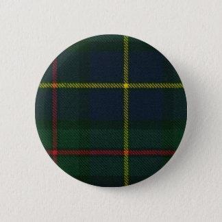 Clan MacLeod Tartan Button