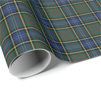 Clan MacMillan Modern Tartan Wrapping Paper
