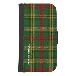 Clan MacMillan Plaid Samsung Galaxy S4 Wallet