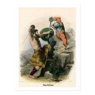 Clan MacMillan Postcard