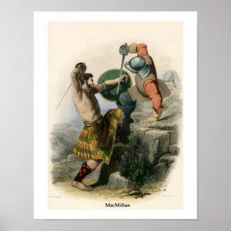 Clan MacMillan Poster