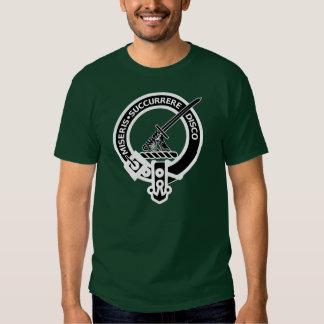 Clan MacMillan reverse image Tshirts