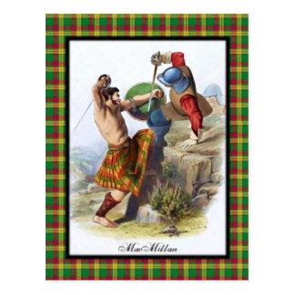 Clan MacMillan Scottish Dreams Postcard