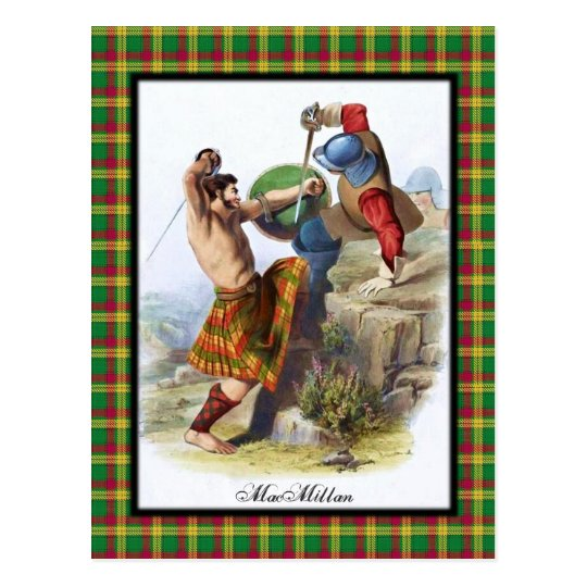 Clan MacMillan Scottish Dreams Postcard