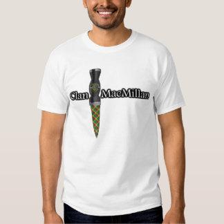 Clan MacMillan Scottish Sgian Dubh T Shirts