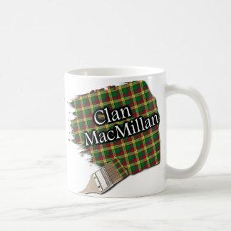 Clan MacMillan Tartan Paint Brush Cup Mug
