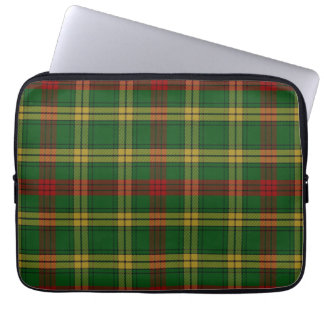 Clan MacMillan Tartan Plaid Laptop Cover