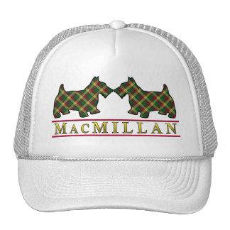 Clan MacMillan Tartan Scottie Dogs Cap