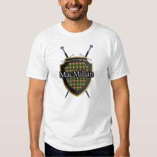 Clan MacMillan Tartan Shield and Swords Shirts