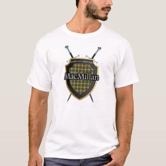 Clan MacMillan Tartan Shield and Swords T-Shirt