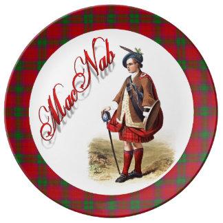 Clan MacNab Old Scotland Porcelain Plate