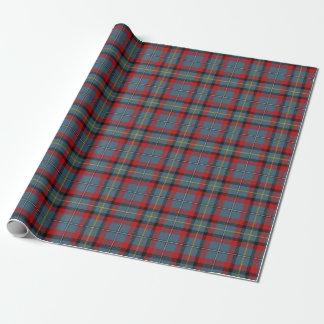 Clan MacNamara McNamara Irish Tartan Plaid Wrapping Paper
