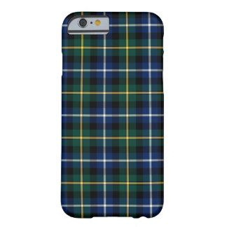 Clan MacNeil of Barra Blue and Green Tartan Barely There iPhone 6 Case