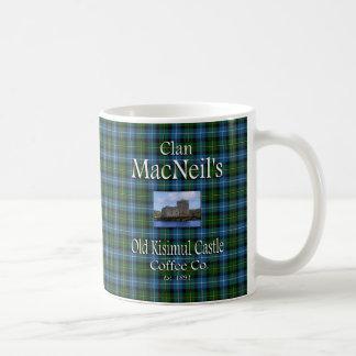 Clan MacNeil s Old Kisimul Castle Coffee Co Coffee Mug