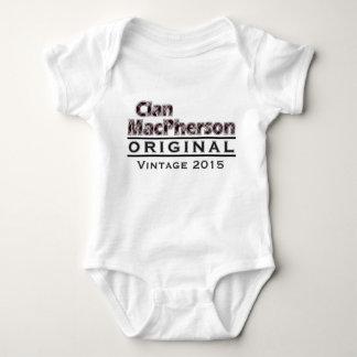 Clan MacPherson Vintage Customize Your Birthyear Baby Bodysuit