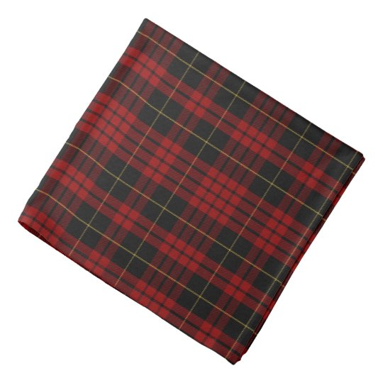 Clan MacQueen Plaid Bandanna
