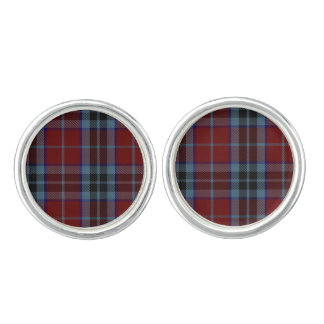 Clan MacTavish Plaid Cuff Links