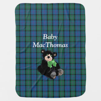 Clan MacThomas Tartan Plaid Baby Blanket