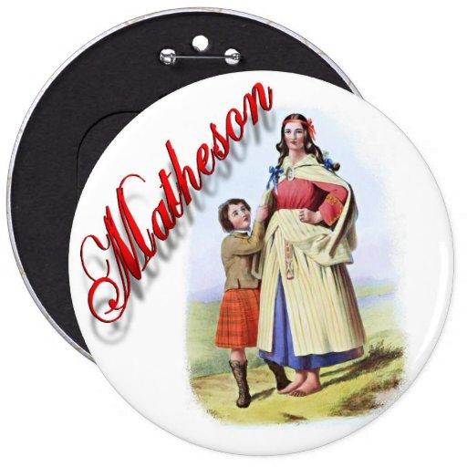 Clan Matheson Scottish Dream Button