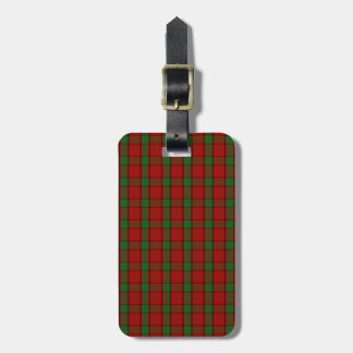 Clan Maxwell Tartan Luggage Tag
