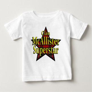Clan McAllister Superstar Infant T-Shirt