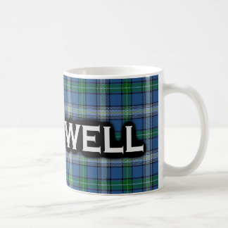 Clan McDowell Tartan Scottish Coffee Mug