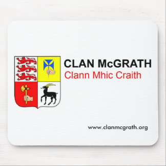 Clan McGrath Mouse Mat