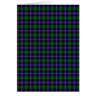 Clan Mitchell Tartan Card