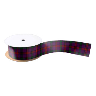 Clan Montgomery Tartan Satin Ribbon