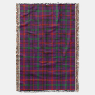 Clan Montgomery Tartan Throw Blanket