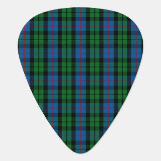 Clan Morrison Tartan Guitar Pick