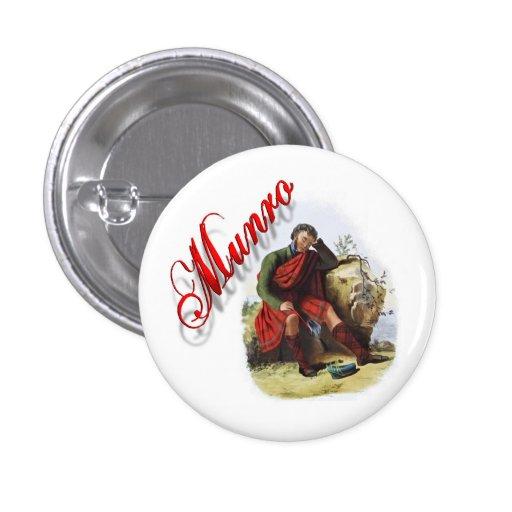 Clan Munro Scottish Dream Button