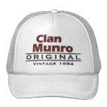 Clan Munro Vintage Customise Your Birthyear Cap