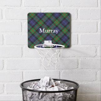 Clan Murray Tartan Customize Name Mini Basketball Hoop