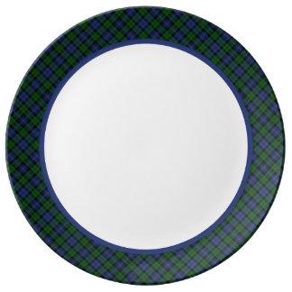 Clan Murray Tartan Porcelain Plate