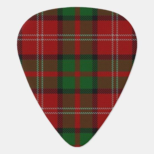 Clan Nisbet Nesbitt Sounds of Scotland Tartan Plectrum