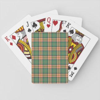 Clan Pollock Tartan Playing Cards